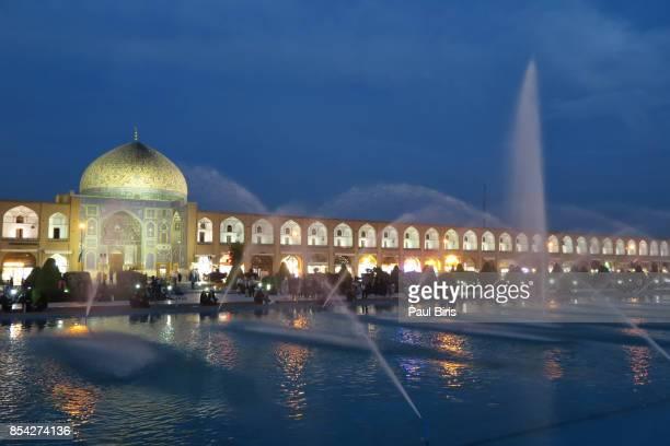 Persian Islamic architecture,  Masjid-I Sheikh Lotfallah mosque  in Naghsh-i Jahan Square, Isfahan, Iran
