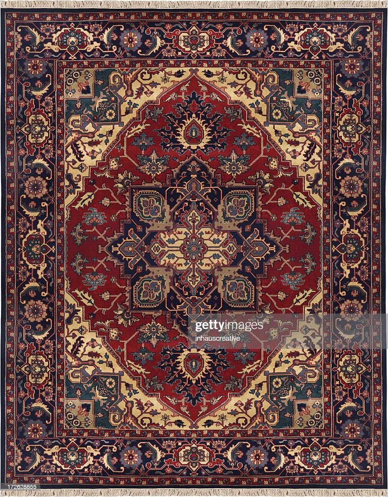 Persian Oriental Rug : Stock Photo