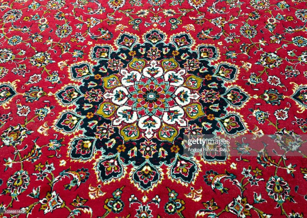 Persian rug detail : ストックフォト