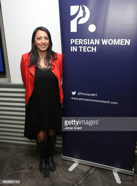 Persian Women in Tech Founder Sepideh Najiri attends the Persian Women in Tech Austin Launch SXSW 2018 on March 11 2018 in Austin Texas