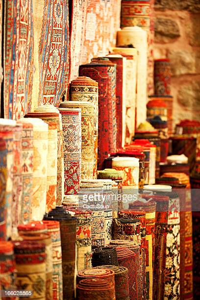 persianl carpets - persian rug stock photos and pictures