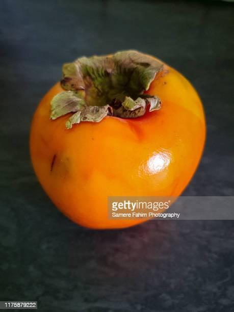 persimmon - 果肉 ストックフォトと画像