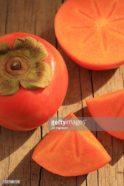 persimmon - jill harrison stock pictures, royalty-free photos & images
