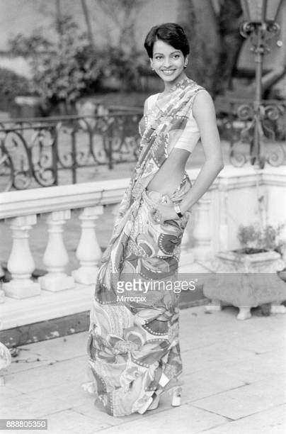 Persis Khambatta actress photocall to announce role in new anti apartheid film The Wilby Conspiracy due to begin filming in Kenya next month Pictured...