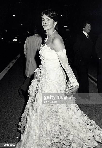Persis Khambatta during 57th Annual Academy Awards at Dorothy Chandler Pavilion in Los Angeles California United States