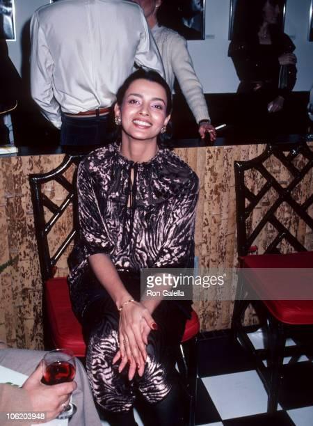 Persis Khambatta during Persis Khambatta Sighting at Ma Maison Restaurant March 2 1981 at Ma Maison Restaurant in Beverly Hills California United...