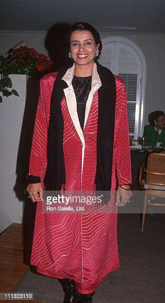 Persis Khambatta during Premiere of Star Trek VI at Paramount Studios in Hollywood California United States