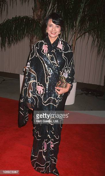 Persis Khambatta during TV Taping of Golden Globe Awards 50th Anniversary at NBC Studios Stage 9 in Burbank California United States