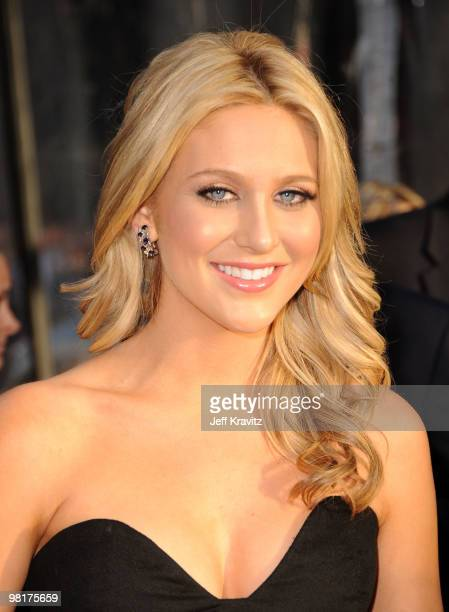 Persoanlity Stephanie Pratt arrives to the premiere 'Clash Of The Titans' held at Grauman's Chinese Theatre on March 31 2010 in Los Angeles California