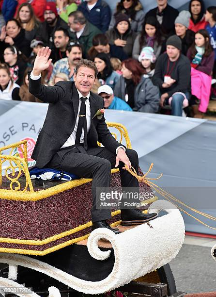TV persoanlity Ty Pennington participates in the 128th Tournament of Roses Parade Presented by Honda on January 2 2017 in Pasadena California