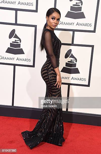 TV persoanlity Zuri Hall attends The 58th GRAMMY Awards at Staples Center on February 15 2016 in Los Angeles California