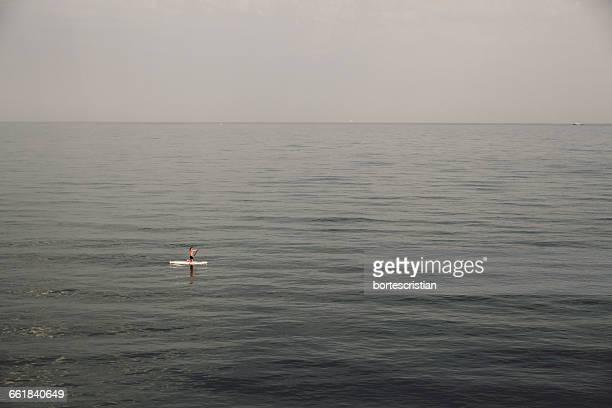 Person Boating In Sea