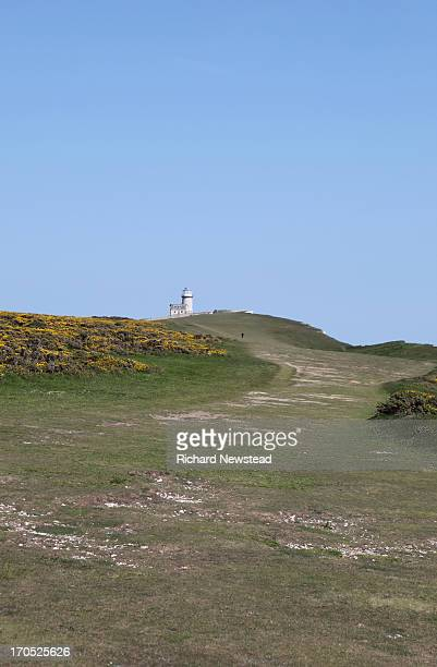 CONTENT] Person climbing the cliff towards Belle Tout lighthouse in Sussex June 7th 2013