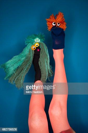A human sock puppet - 2 2