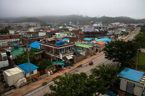 KOR: Views of Yeonpyeong As Worries Mount on South Korean Isle