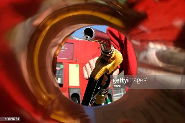 posto de gasolina - gasolina - fotografias e filmes do acervo