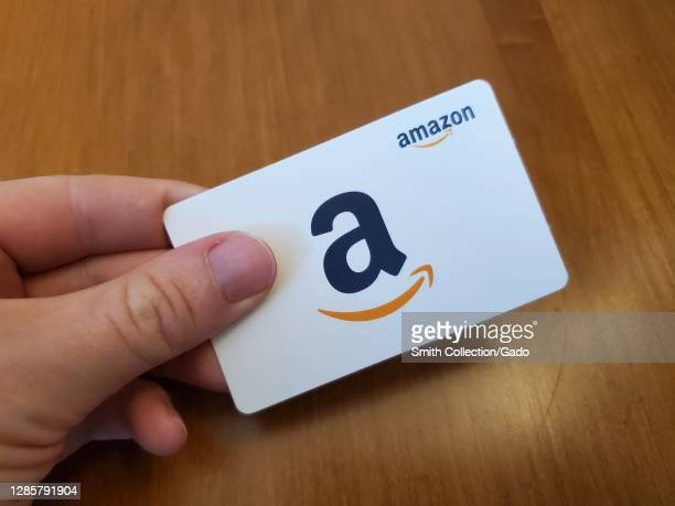 17 Amazon Gift Card Photos And Premium High Res Pictures Getty Images