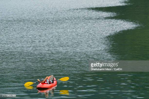 Person In Boat On Water