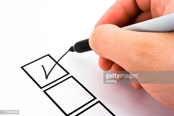 Person Marking in a Checkbox