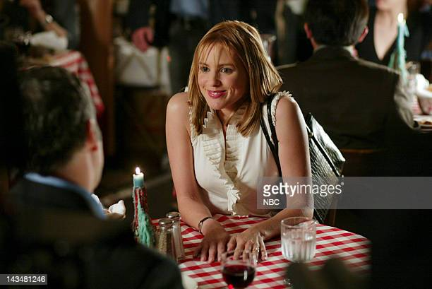 INTENT A Person of Interest Episode 23 Aired 5/18/03 Pictured Vincent D'Onofrio as Detective Robert Goren Olivia d'Abo as Elizabeth Hitchens