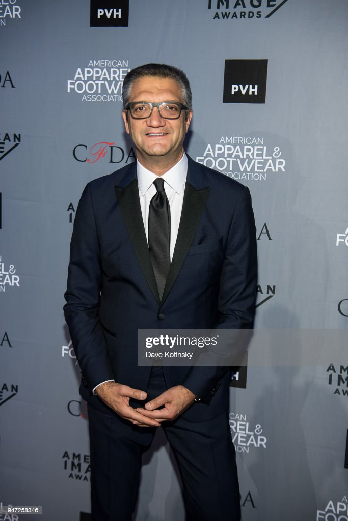 Person of the Year Emanuel Chirico arrives at the American Apparel & Footwear Association's 40th Annual American Image Awards on 2018 on April 16, 2018 in New York City.