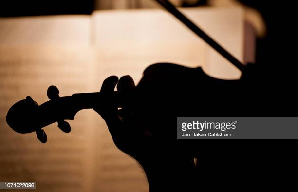 person playing the violin - classical music stock pictures, royalty-free photos & images