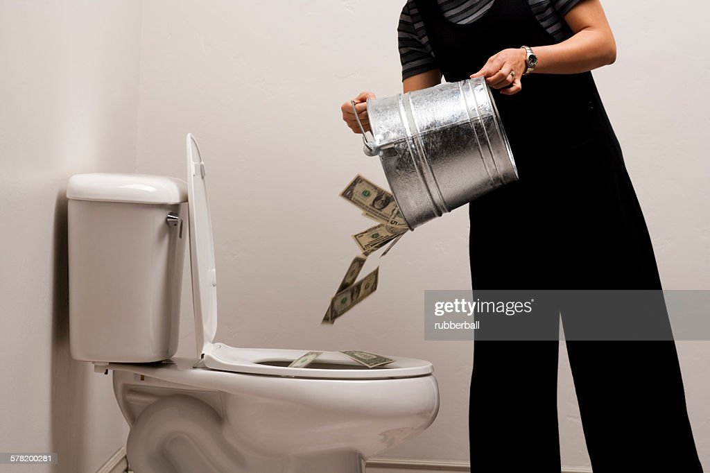 Standard Size Toilet