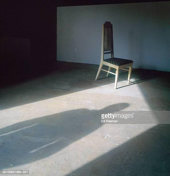person standing in doorway shadow on floor - 不吉 ストックフォトと画像