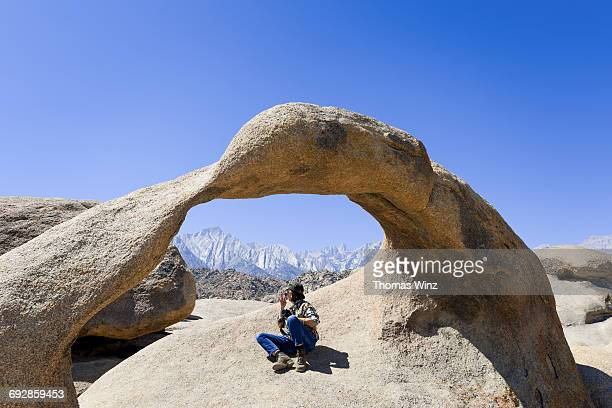 Person under an Arch