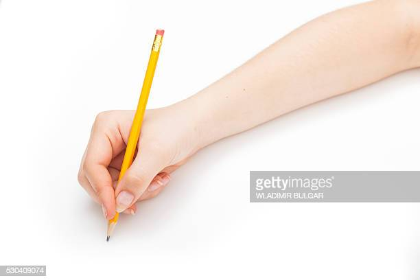 person using a pencil - pencil stock pictures, royalty-free photos & images
