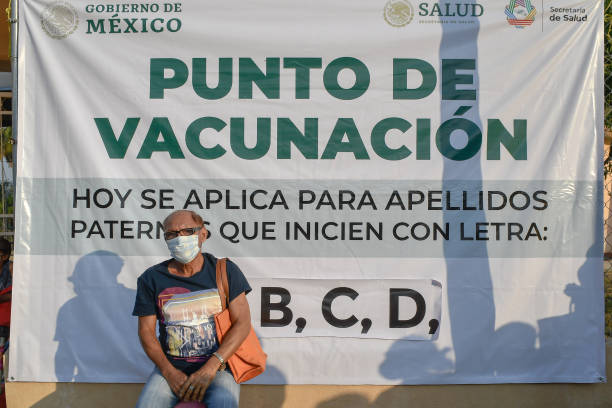 MEX: Vaccination Campaign Continues In Mexico For Senior Citizens