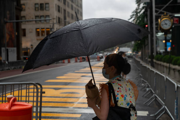 NY: Tropical Storm Fay Brings Heavy Rain And Winds To New York