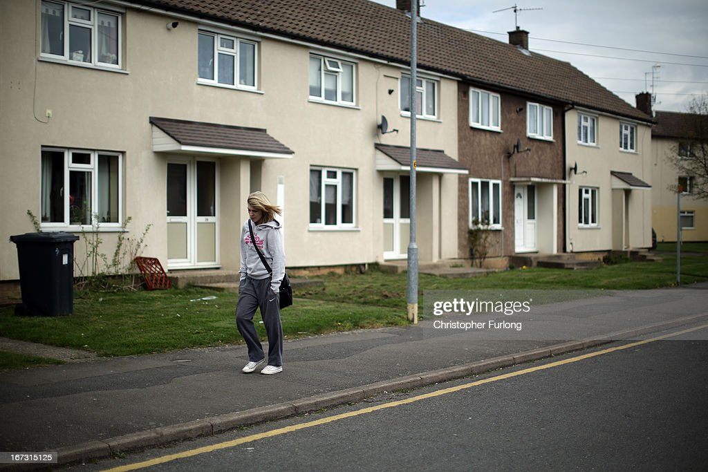 A person walks on the sidewalk in Northamptonshire, the youth unemployment capital of Britain, on April 24, 2013 in Corby, England. A recent study pin pointed Corby as Britain's youth unemployment capital. The study by education specialists Ambitious Minds found that youth unemployment was 11% rising from 4% in 2007. Corby in Northamptonshire was built around its steel industry in the 1930's. The steel works closed in 1980 with the loss of 10,000 jobs.