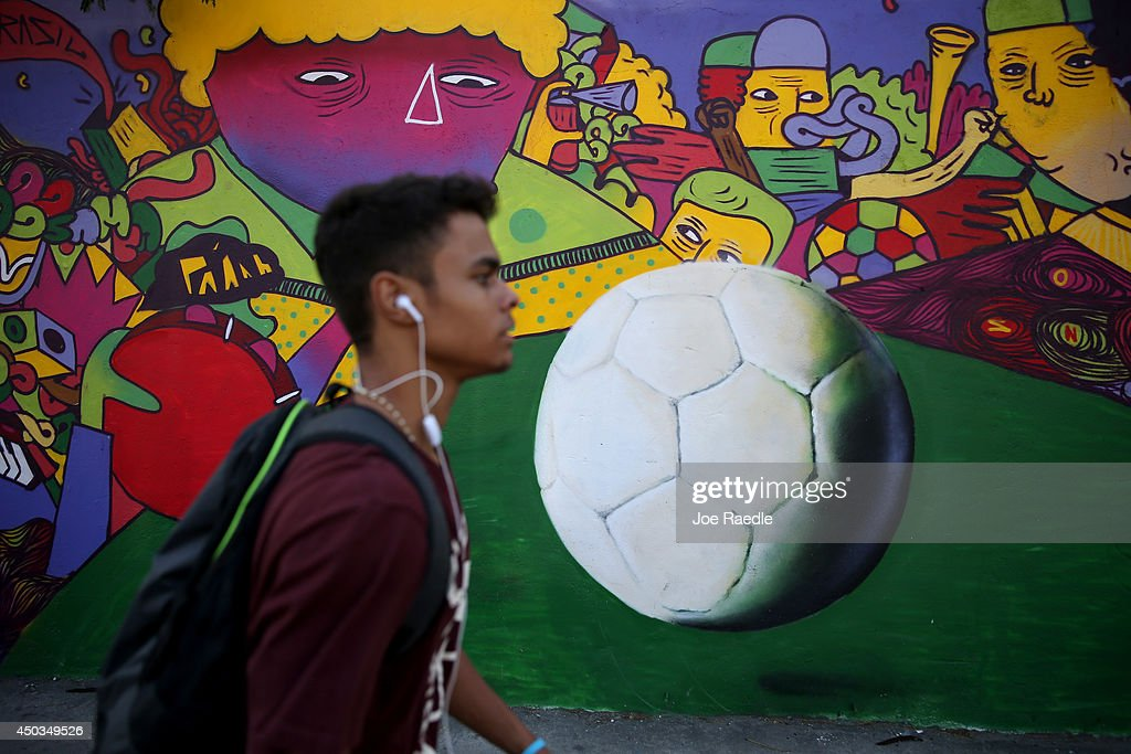 Brazil Prepares For World Cup : News Photo
