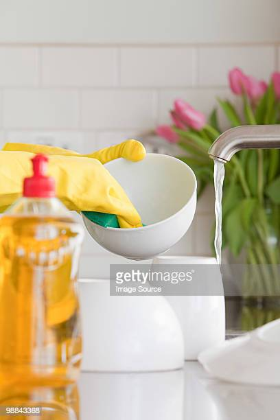 Person washing up