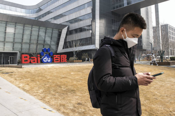 CHN: Baidu Headquarters as Chinese Search Engine Giant Said to Win Hong Kong Bourse Approval for Second Listing