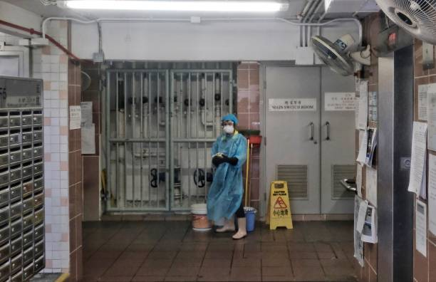 CHN: Daily Life In Hong Kong Amid The Coronavirus Outbreak