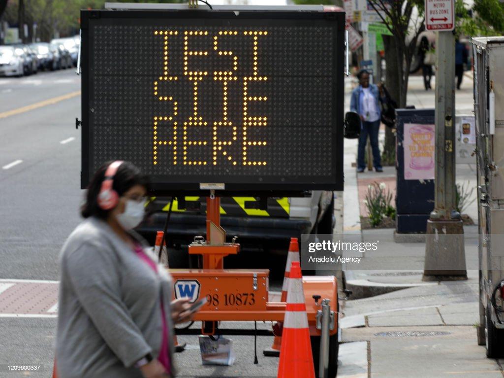 Coronavirus precautions in Washington : News Photo