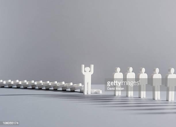 Person who has broken the domino effect
