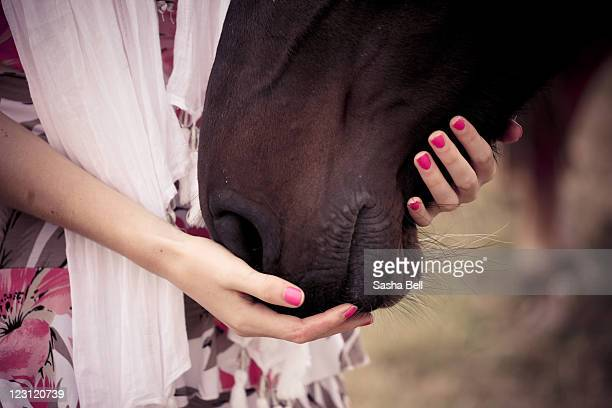 Person with horse