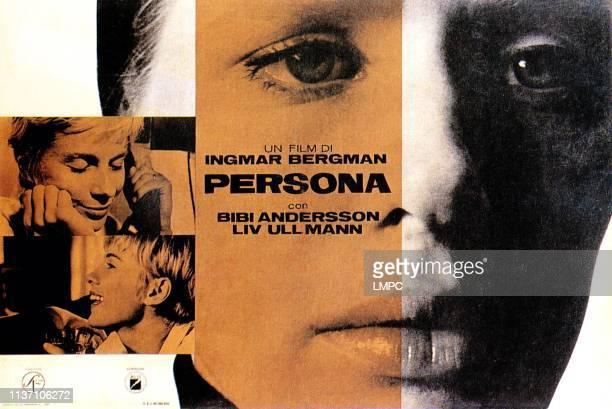Persona poster Bibi Andersson Liv Ullmann 1967