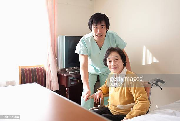 Personal Care Assistant and senior woman