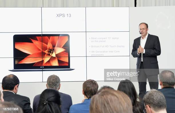 Personal Computer Product Group at Dell Sam Burd speaks at Dell Press Conference To Introduce The Venue Tablet Line And New XPS Laptops on October 2,...