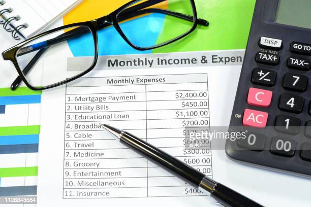 personal finance - expense stock pictures, royalty-free photos & images