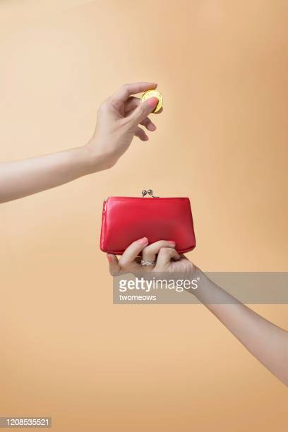 personal financial planning concept still life. - clutch bag stock pictures, royalty-free photos & images