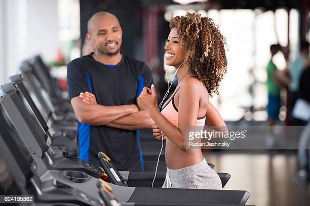 Persönliche Fitnesstrainer