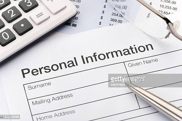 Personal information Privacy concept