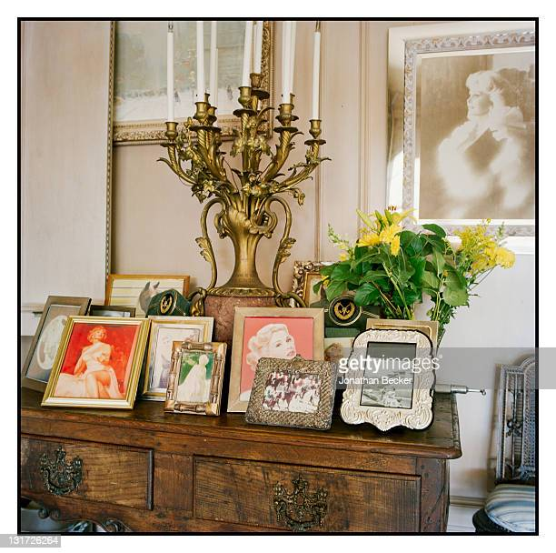 Personal photographs of actress Zsa Zsa Gabor are photographed in her home for Vanity Fair Magazine on May 5, 2007 in Bel Air, California.