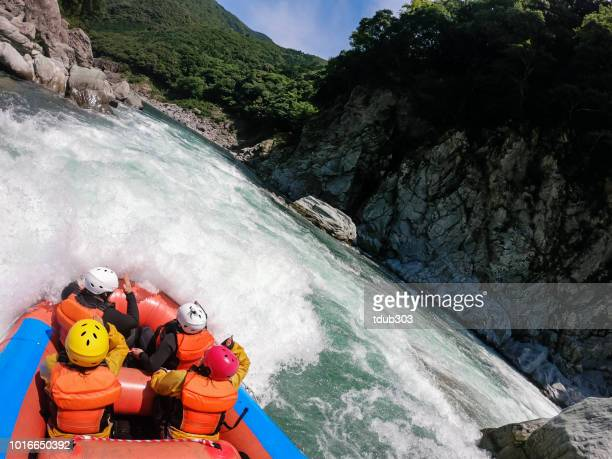 Personal point of view of a white water river rafting excursion