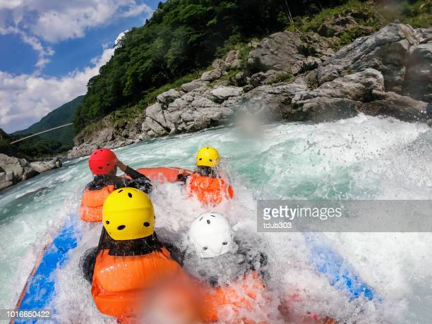 Persönlichen Sicht eine Wildwasser River-rafting Ausflug